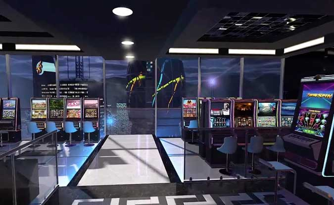 Video Slot Virtual Reality Casino